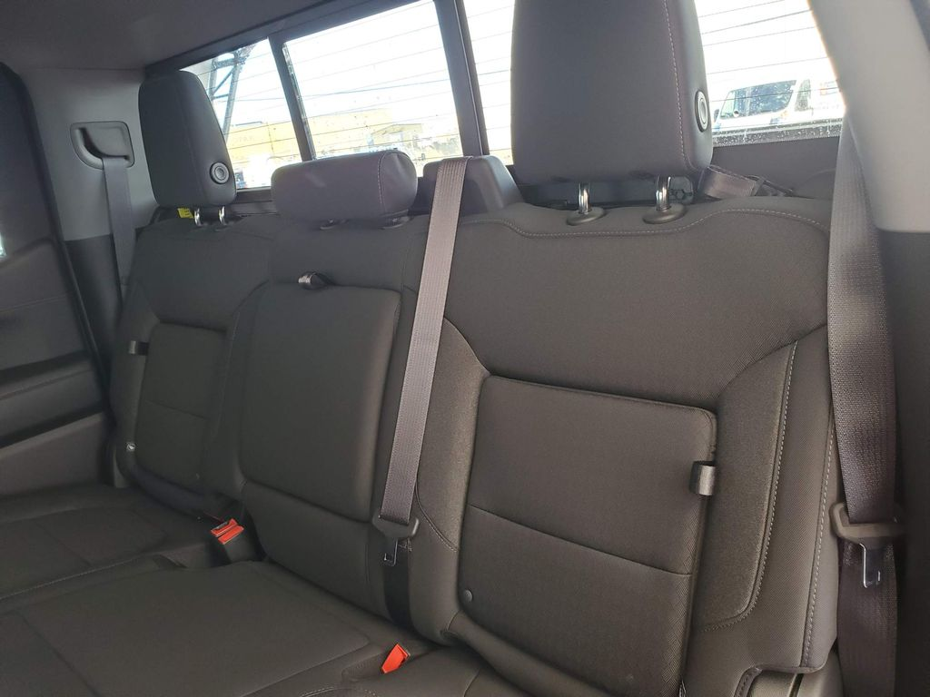 Red 2021 Chevrolet Silverado 1500 Central Dash Options Photo in Airdrie AB
