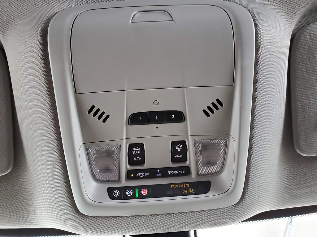2021 Buick Enclave Radio Controls Closeup Photo in Airdrie AB