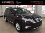 Maroon[Sizzling Crimson Mica] 2011 Toyota Highlander Primary Listing Photo in Sherwood Park AB