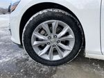 White[Iridescent Pearl Tricoat] 2019 Chevrolet Malibu LT Left Front Rim and Tire Photo in Calgary AB