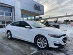 White[Iridescent Pearl Tricoat] 2019 Chevrolet Malibu LT Primary Listing Photo in Calgary AB
