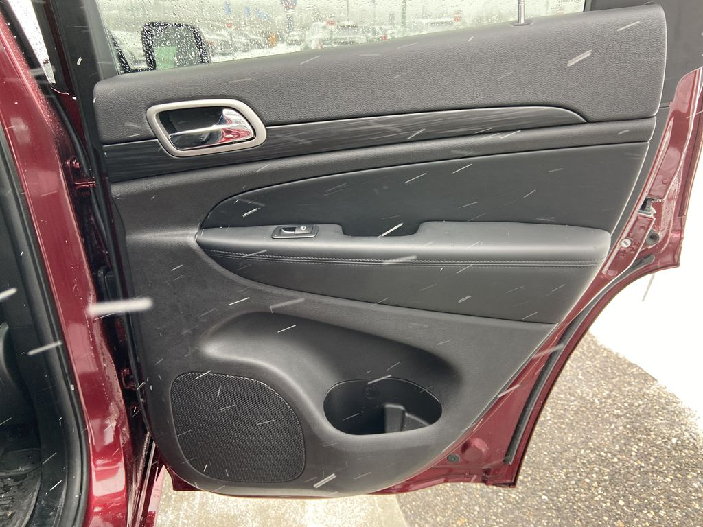 Red[Velvet Red Pearl] 2020 Jeep Grand Cherokee Altitude Right Rear Interior Door Panel Photo in Calgary AB
