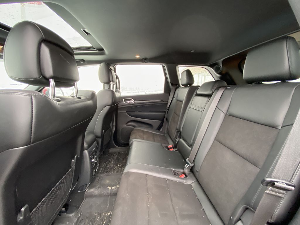Red[Velvet Red Pearl] 2020 Jeep Grand Cherokee Altitude Left Side Rear Seat  Photo in Calgary AB
