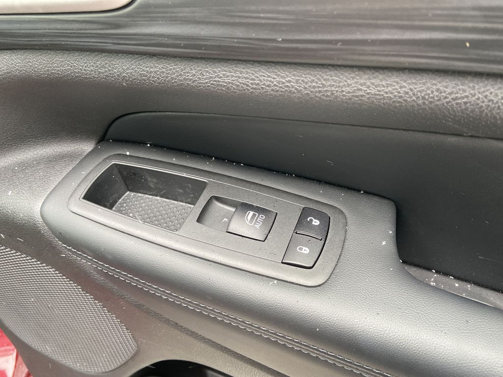 Red[Velvet Red Pearl] 2020 Jeep Grand Cherokee Altitude Passenger Front Door Controls Photo in Calgary AB