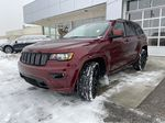 Red[Velvet Red Pearl] 2020 Jeep Grand Cherokee Altitude Left Front Head Light / Bumper and Grill in Calgary AB