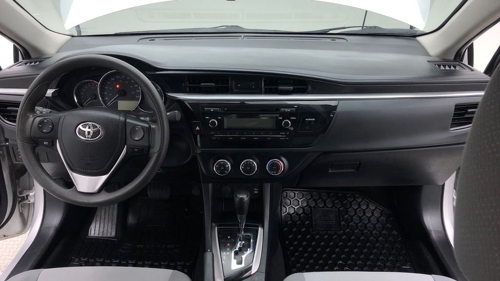 Silver[Classic Silver Metallic] 2015 Toyota Corolla CE - Automatic, Bluetooth, SAVE ON FUEL Central Dash Options Photo in Winnipeg MB
