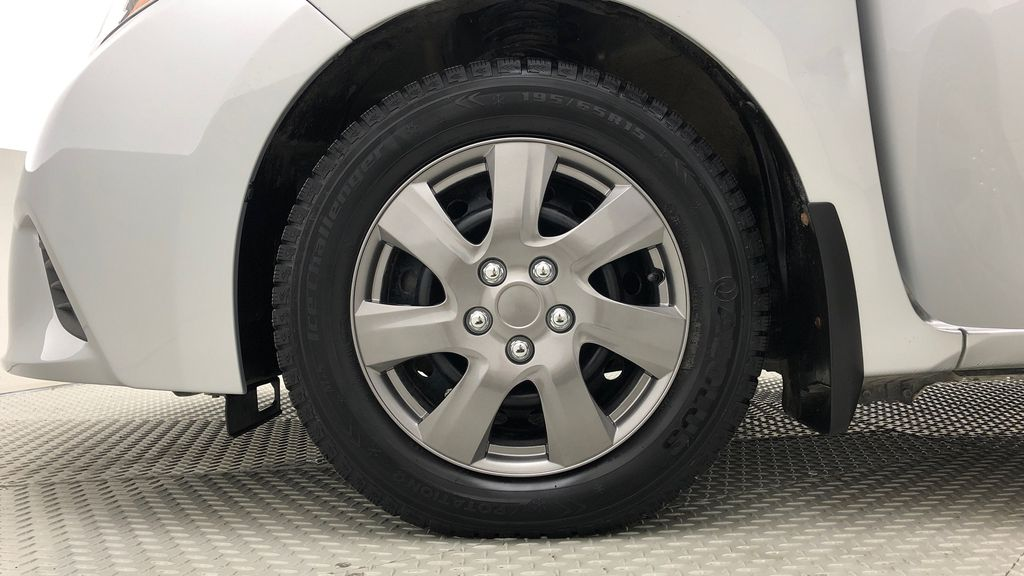 Silver[Classic Silver Metallic] 2015 Toyota Corolla CE - Automatic, Bluetooth, SAVE ON FUEL Left Front Rim and Tire Photo in Winnipeg MB