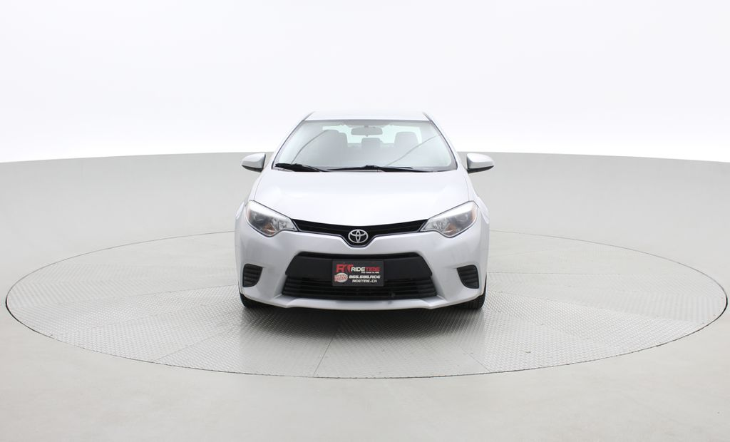Silver[Classic Silver Metallic] 2015 Toyota Corolla CE - Automatic, Bluetooth, SAVE ON FUEL Front Vehicle Photo in Winnipeg MB