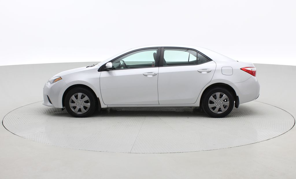 Silver[Classic Silver Metallic] 2015 Toyota Corolla CE - Automatic, Bluetooth, SAVE ON FUEL Left Side Photo in Winnipeg MB