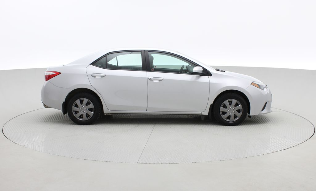 Silver[Classic Silver Metallic] 2015 Toyota Corolla CE - Automatic, Bluetooth, SAVE ON FUEL Right Side Photo in Winnipeg MB