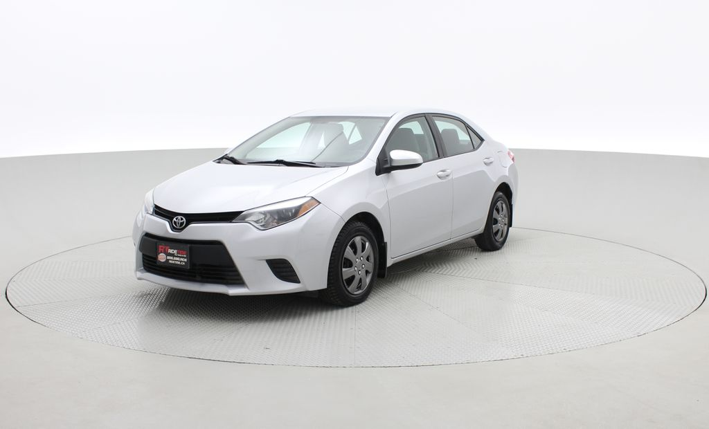 Silver[Classic Silver Metallic] 2015 Toyota Corolla CE - Automatic, Bluetooth, SAVE ON FUEL Left Front Corner Photo in Winnipeg MB