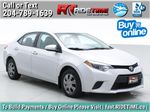 Silver[Classic Silver Metallic] 2015 Toyota Corolla CE - Automatic, Bluetooth, SAVE ON FUEL Primary Listing Photo in Winnipeg MB