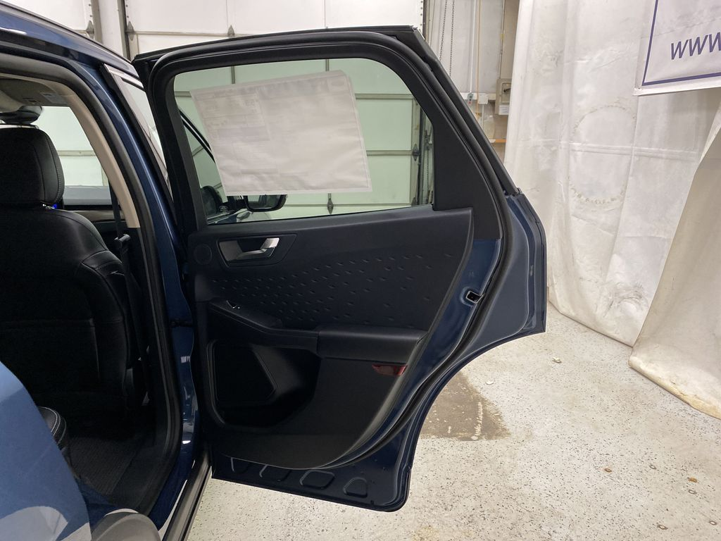 Blue[Blue Metallic] 2020 Ford Escape Right Rear Interior Door Panel Photo in Dartmouth NS