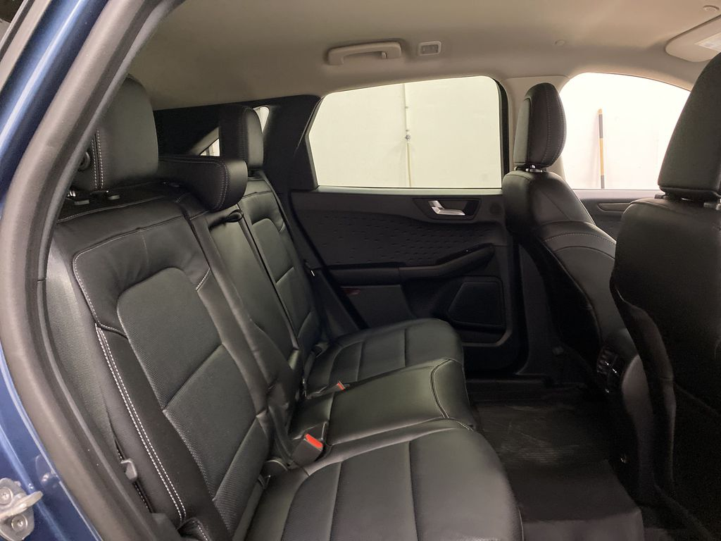 Blue[Blue Metallic] 2020 Ford Escape Right Side Rear Seat  Photo in Dartmouth NS
