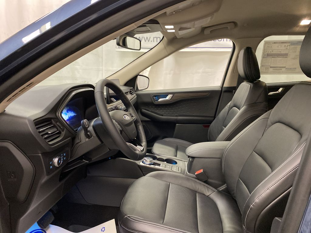 Blue[Blue Metallic] 2020 Ford Escape Left Front Interior Photo in Dartmouth NS