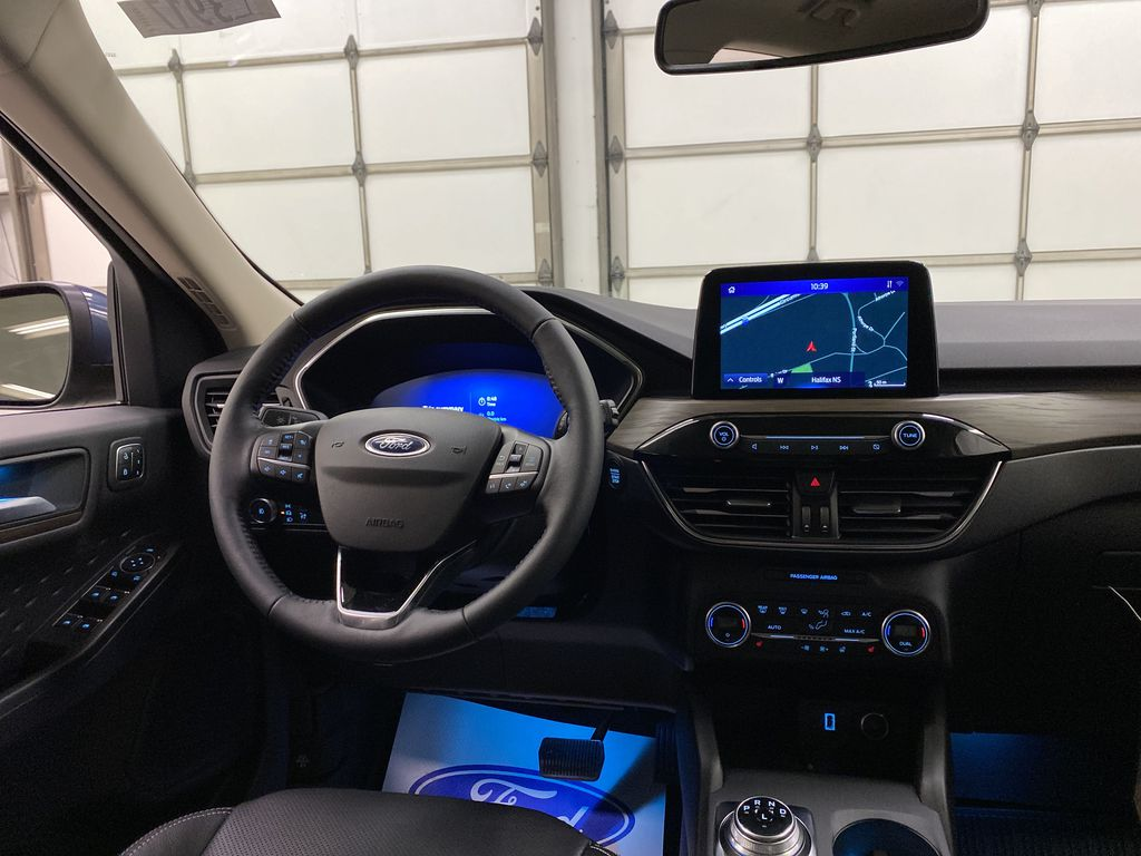 Blue[Blue Metallic] 2020 Ford Escape Strng Wheel: Frm Rear in Dartmouth NS