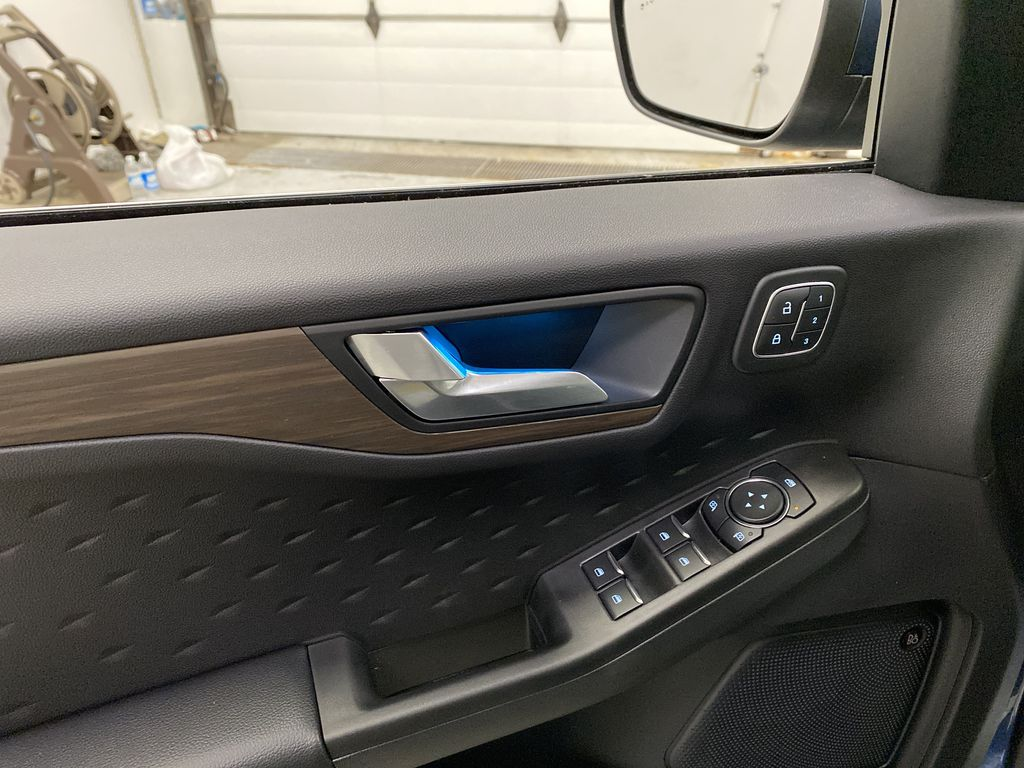Blue[Blue Metallic] 2020 Ford Escape  Driver's Side Door Controls Photo in Dartmouth NS
