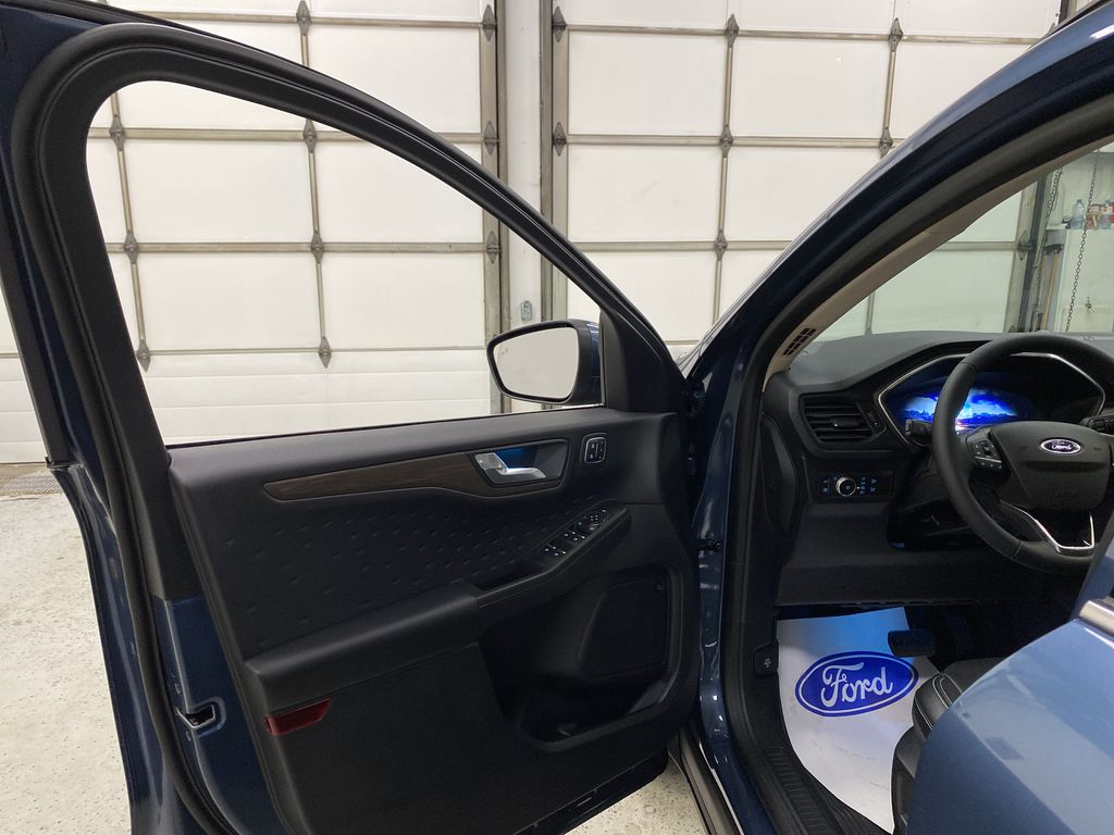 Blue[Blue Metallic] 2020 Ford Escape Left Front Interior Door Panel Photo in Dartmouth NS