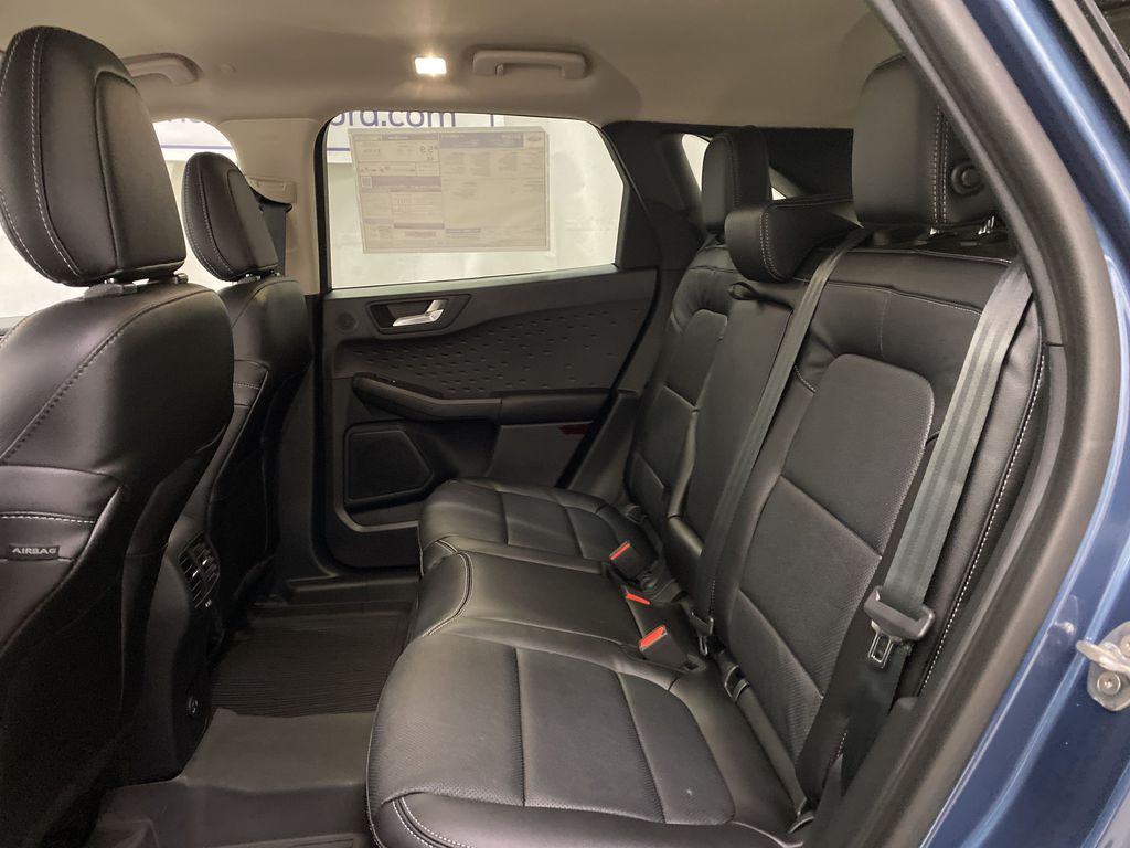 Blue[Blue Metallic] 2020 Ford Escape Left Side Rear Seat  Photo in Dartmouth NS