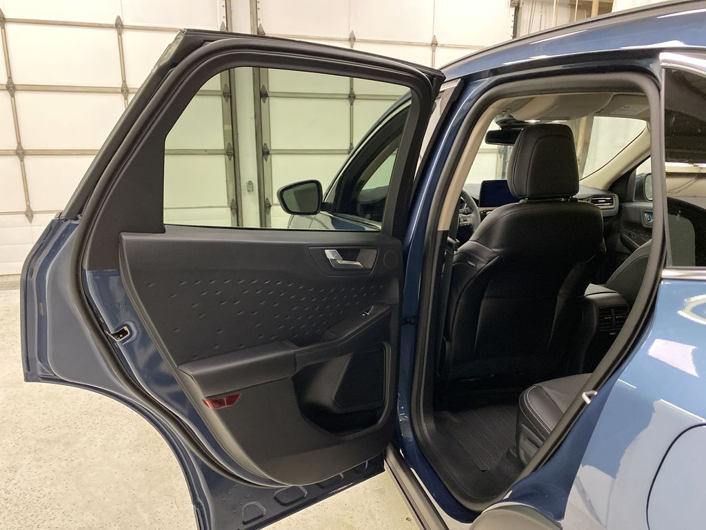 Blue[Blue Metallic] 2020 Ford Escape Left Rear Interior Door Panel Photo in Dartmouth NS