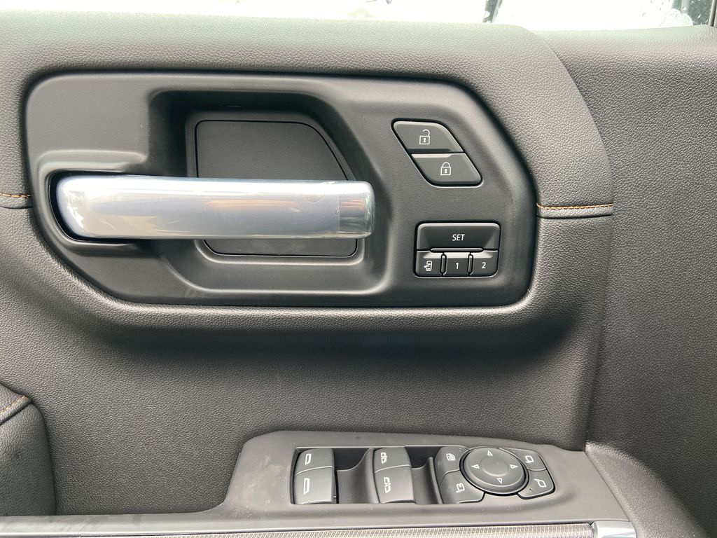 Black[Onyx Black] 2021 GMC Sierra 1500 AT4  Driver's Side Door Controls Photo in Calgary AB