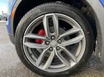 Blue[Wave Metallic] 2021 Cadillac XT4 Sport Left Front Rim and Tire Photo in Calgary AB