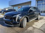 Black[Stellar Black Metallic] 2021 Cadillac XT4 Premium Luxury Left Front Head Light / Bumper and Grill in Calgary AB