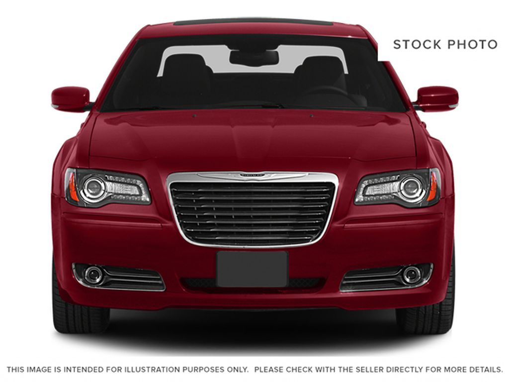 White[Bright White Clearcoat] 2014 Chrysler 300 Front Vehicle Photo in Cold Lake AB