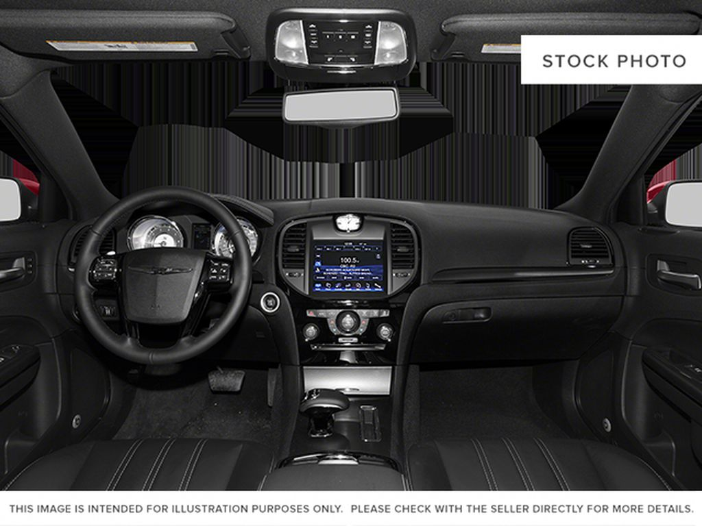 White[Bright White Clearcoat] 2014 Chrysler 300 Central Dash Options Photo in Cold Lake AB