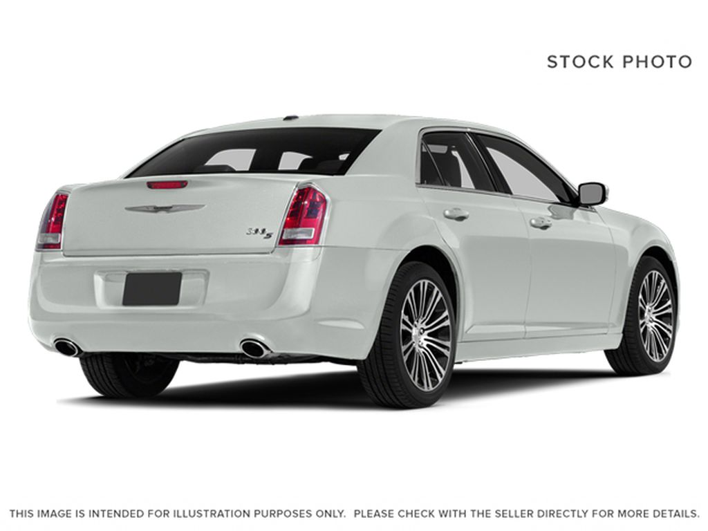 White[Bright White Clearcoat] 2014 Chrysler 300 Right Rear Corner Photo in Cold Lake AB
