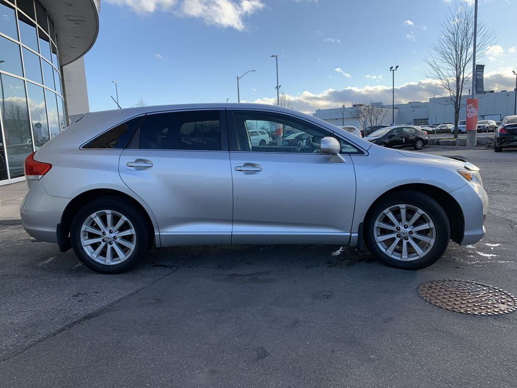 Silver 2010 Toyota Venza Front Vehicle Photo in Brampton ON