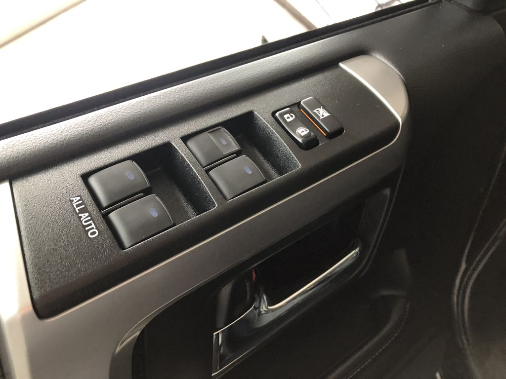 Black 2019 Toyota 4Runner SR5 4WD | Toyota Certified Third Row Seat or Additional  Photo in Edmonton AB