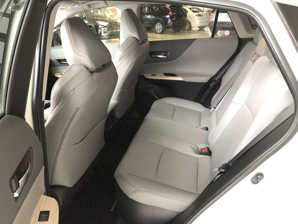 Blizzard Pearl 2021 Toyota Venza Hybrid Limited Left Front Seat Photo in Edmonton AB