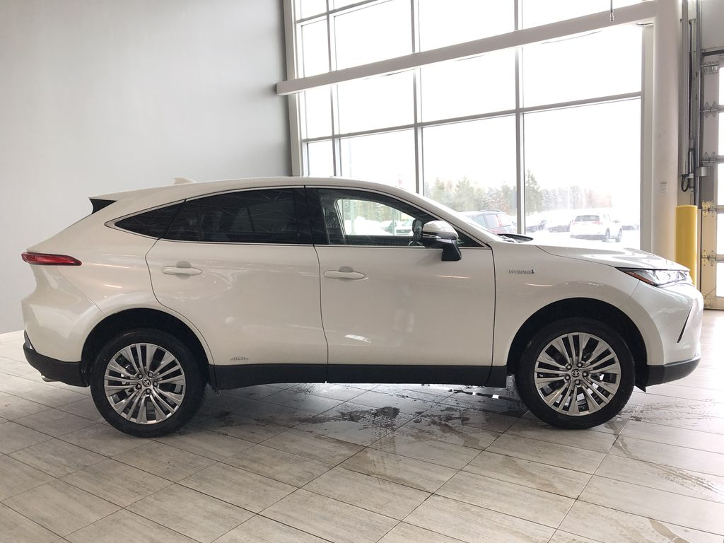 Blizzard Pearl 2021 Toyota Venza Hybrid Limited Third Row Seat or Additional  Photo in Edmonton AB