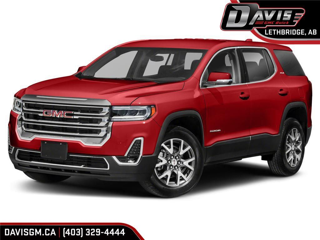 Red 2021 GMC Acadia