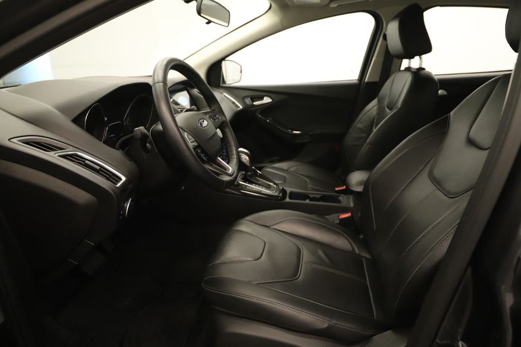 Grey 2018 Ford Focus Left Side Rear Seat  Photo in Lethbridge AB