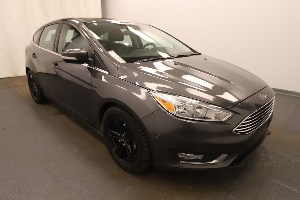 Grey 2018 Ford Focus Left Front Rim and Tire Photo in Lethbridge AB