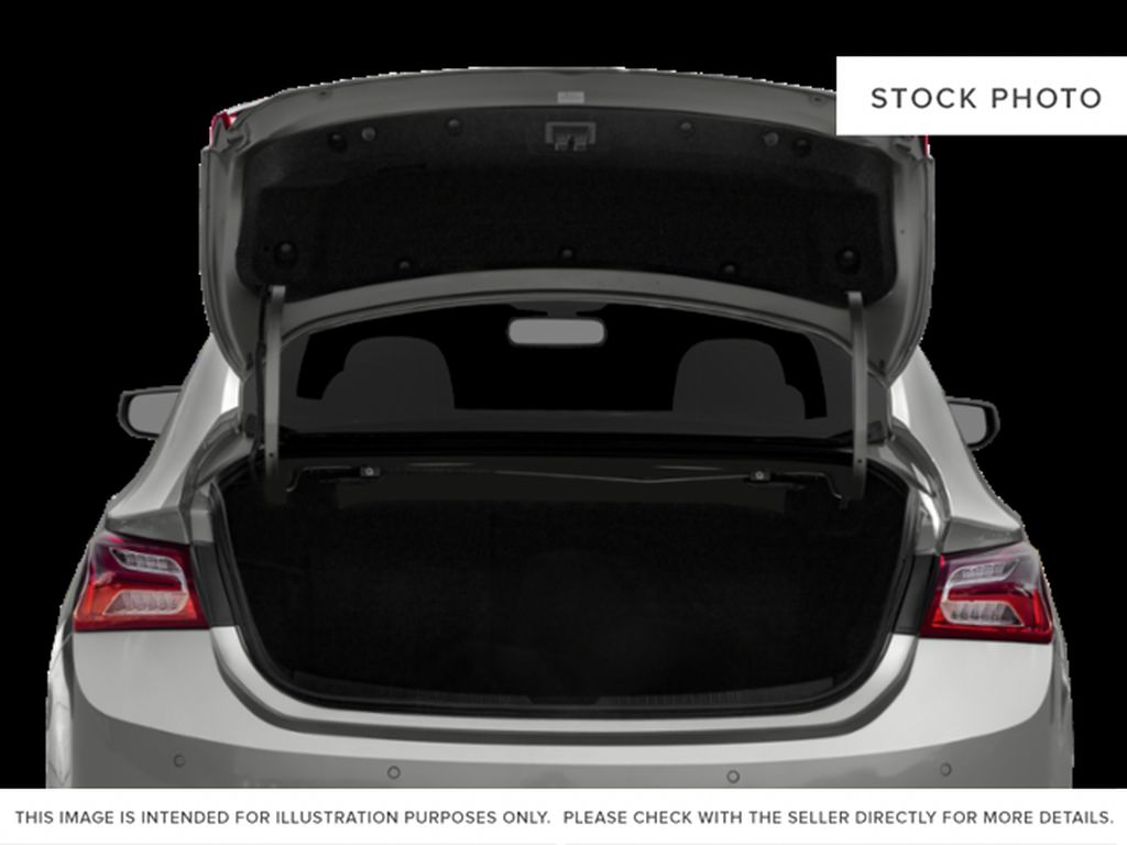 White[Summit White] 2021 Chevrolet Malibu Trunk / Cargo Area Photo in Portage La Prairie MB
