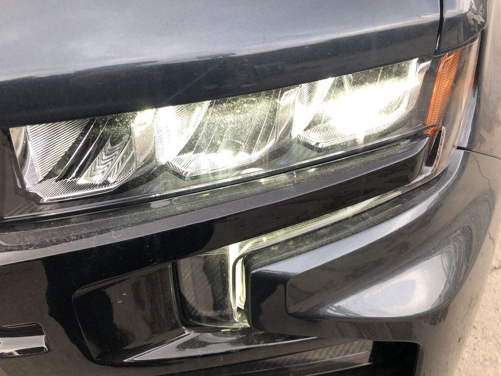 Gray[Shadow Grey Metallic] 2021 Chevrolet Silverado 1500 LT Trail Boss Left Front Head Light / Bumper and Grill in Canmore AB
