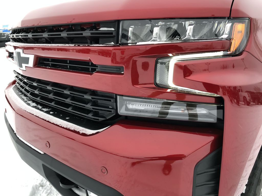 Red[Cherry Red Tintcoat] 2021 Chevrolet Silverado 1500 Left Front Head Light / Bumper and Grill in Edmonton AB