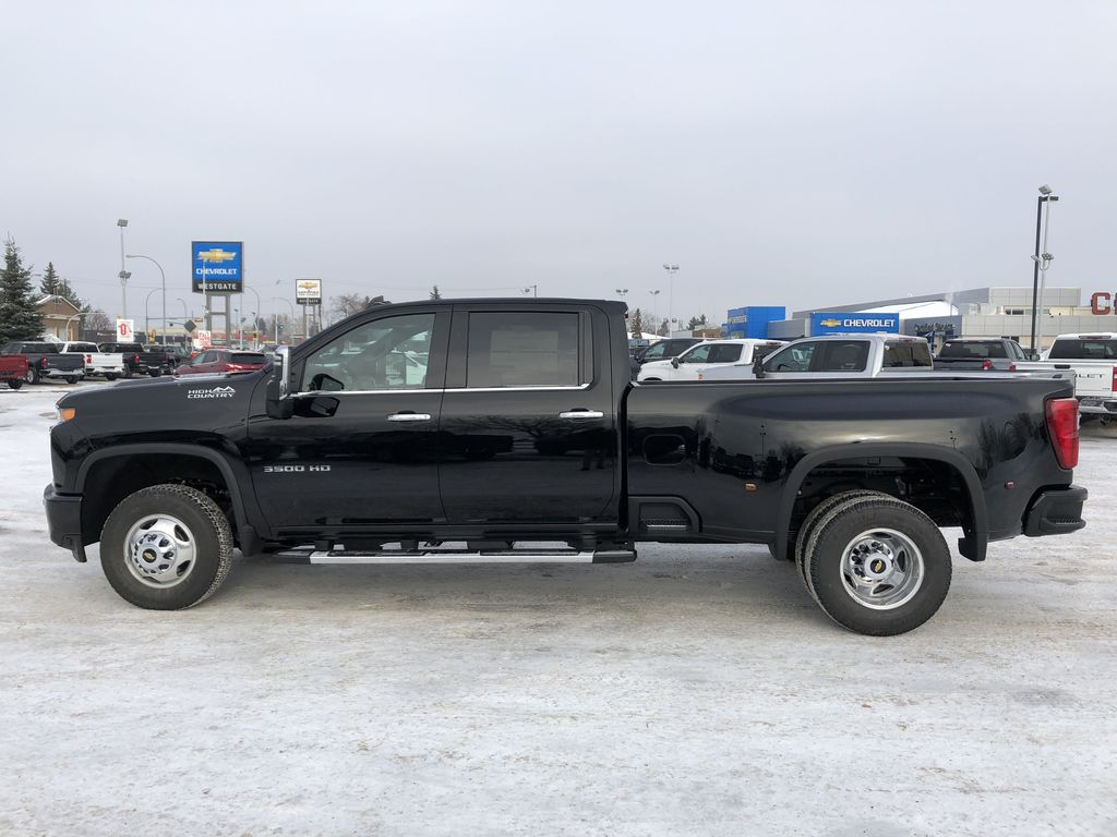 Black[Black] 2021 Chevrolet Silverado 3500HD Left Side Photo in Edmonton AB