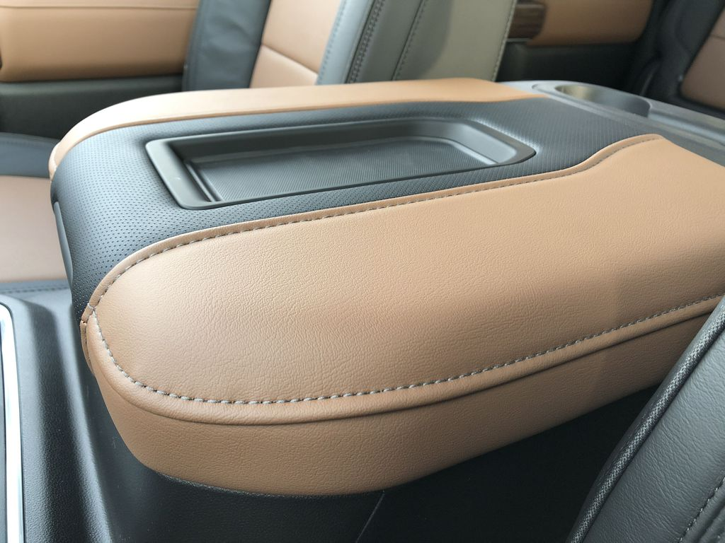 Black[Black] 2021 Chevrolet Silverado 3500HD Center Console Photo in Edmonton AB