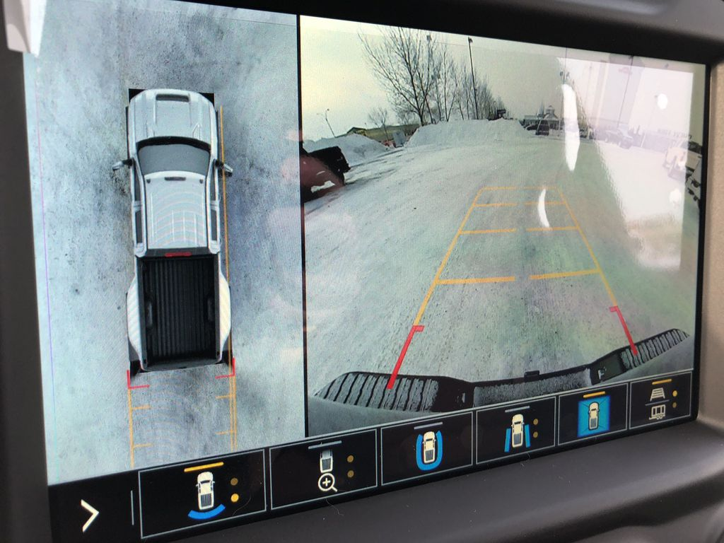 Black[Black] 2021 Chevrolet Silverado 3500HD Backup Camera Closeup Photo in Edmonton AB