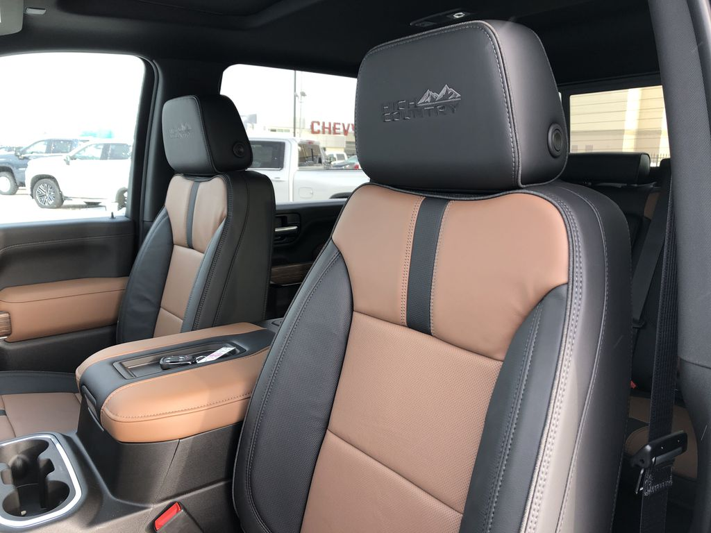 Black[Black] 2021 Chevrolet Silverado 3500HD Left Front Interior Photo in Edmonton AB
