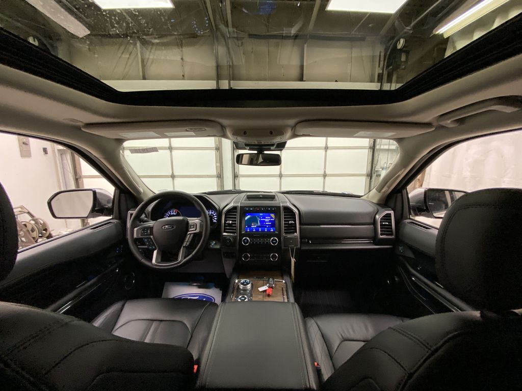 White[Star White Platinum Metallic Tri-Coat] 2020 Ford Expedition Strng Wheel/Dash Photo: Frm Rear in Dartmouth NS