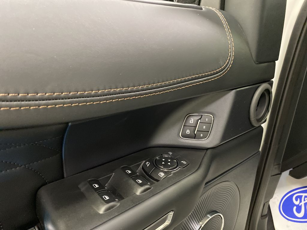 White[Star White Platinum Metallic Tri-Coat] 2020 Ford Expedition  Driver's Side Door Controls Photo in Dartmouth NS