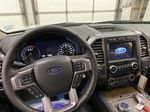 White[Star White Platinum Metallic Tri-Coat] 2020 Ford Expedition Steering Wheel and Dash Photo in Dartmouth NS