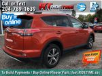 Red[Hot Lava] 2016 Toyota RAV4 XLE AWD - Sunroof, Backup Camera, Power Liftgate Right Rear Corner Photo in Winnipeg MB