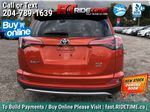 Red[Hot Lava] 2016 Toyota RAV4 XLE AWD - Sunroof, Backup Camera, Power Liftgate Rear of Vehicle Photo in Winnipeg MB