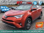 Red[Hot Lava] 2016 Toyota RAV4 XLE AWD - Sunroof, Backup Camera, Power Liftgate Primary Listing Photo in Winnipeg MB